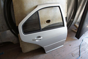 Passenger Side Front and Rear Doors from 2001 VW Jetta MK4