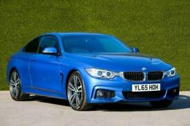 image for BMW 4 Series 430d M Sport 2dr (Professional Media) Auto Coupe Diesel Automatic