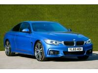 BMW 4 Series 430d M Sport 2dr (Professional Media) Auto Coupe Diesel Automatic