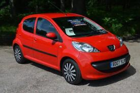 2007 PEUGEOT 107 1.0 Urban 5dr ECONOMICAL ONLY 23,000 MILES