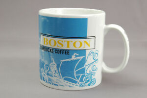 Starbucks Boston City Mug Collage Series 20 oz 1999