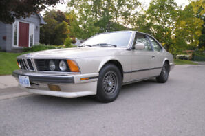 1988 BMW 6-Series Coupe (2 door) $ 9,900.00