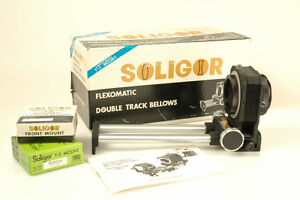 Soligor T-2 Dual Track Bellows M42 works with Canon EOS