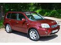2006 NISSAN X TRAIL 2.2 dCi 4x4 Aventura 5dr TURBO DIESEL LOW MILEAGE