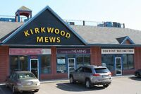 KIRKWOOD MEWS 1525sq.ft. SPACE NOW LEASING! CALL 902-388-1286