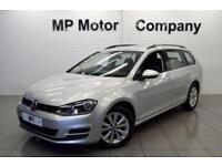2014 64 VOLKSWAGEN GOLF 1.6 SE TDI BLUEMOTION TECHNOLOGY 5D 103BHP DIESEL ESTATE