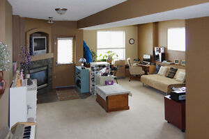 ROOM FOR RENT  IN FINISHED WALK-OUT BASEMENT EVERGREEN S.W.