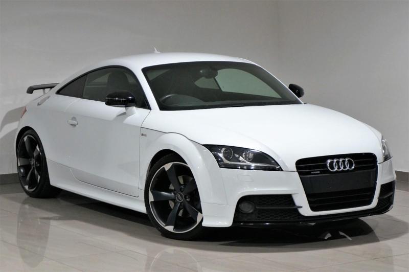 White Audi TT Coupe TFSI S Tronic Quattro Black Edition - Audi tt coupe