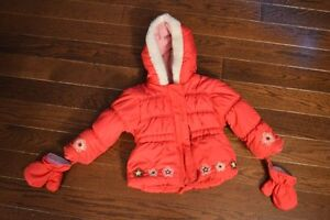 Pink Winter Coat - Size 20lbs - Snow Suit