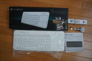 FS: BNIB White Logitech K400 Wireless Keyboard
