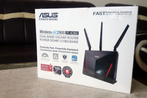 Asus AC2900 RT-AC86U 2.4/5GHz Wireless USB3.1 Networking Router