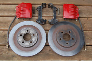 """'94 to '04 MUSTANG Two Piston Calipers and 13"""" Rotors"""