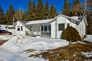 Secluded Acreage Minute from town FOR SALE, St. Paul AB