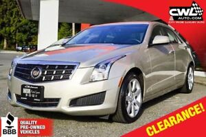 Cadillac ATS 2.5L RWD - ONLY 14,600 KM's 2013