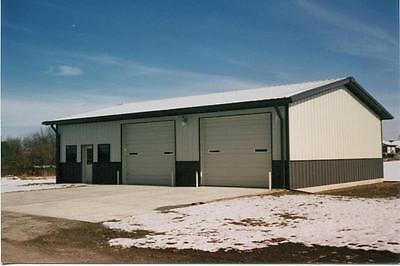 Steel Building 24x24x12 SIMPSON Metal Building Steel Garage Shop Kit
