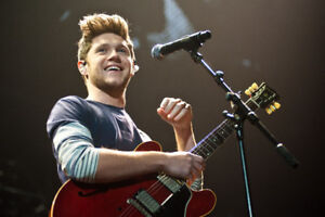 NIALL HORAN TIX!!! Sept. 5th-Budweiser Stage- 4th Row-FACE VALUE