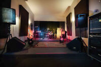 Monthly Rehearsal/ Production Studio at Cherry Beach Sound