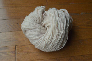 Wool and Silk yarn (hand dyed and natural) Kitchener / Waterloo Kitchener Area image 2
