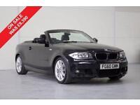 2010 BMW 118D M SPORT CONVERTIBLE, £213.64 A MONTH
