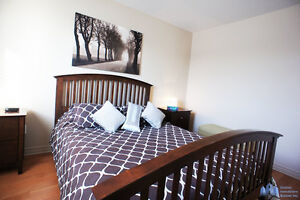 Furnished condo 4 1/2 apart for rent Chomedey Laval all inclusiv