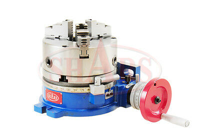 Out Of Stock 90 Days 10 Horizontal And Vertical Rotary Table W 10 3 Jaw Self