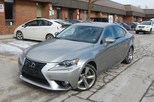 2014 Lexus IS 350 AWD Executive Package 10,650 km
