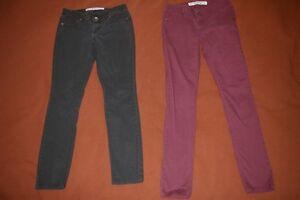 Pantalons, short et jeans pour adolescentes et femmes taille 28