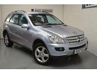 "2007 ""57"" MERCEDES-BENZ ML320 3.0 CDi SPORT AUTO 7G-TRONIC 4MATIC **LOW MILES**"