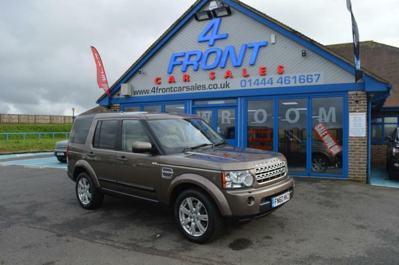 2010 LAND ROVER DISCOVERY 4 TDV6 XS 3.0 DIESEL AUTO 7 SEATER 5 DOOR 4X4 4X4 DIE