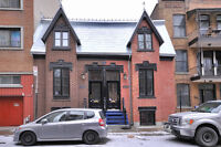 LUXURIOUS HERITAGE HOME, 5 BEDROOMS,  2 BATHROOMS, 8' TO MCGILL