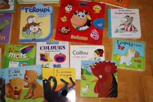 Livres pour bébés lot #1 / Baby book lot #1