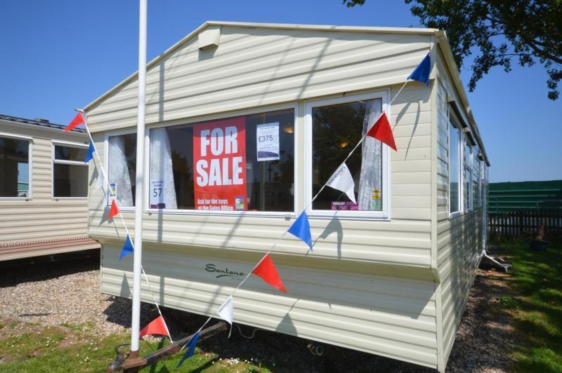 Static Caravan Steeple, Southminster Essex 2 Bedrooms 6 Berth Delta Santana