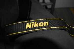 genuine NIKON Camera STRAP / brand new
