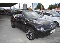 Nissan Juke 1.6 ( 117ps ) CVT N-Tec 2014 AUTOMATIC SAT NAV ONE OWNER