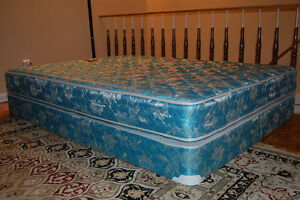 For sale Queen Size bed frame and matterres Negotiable
