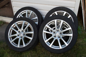 17 inch Summer Tires with Alloy Rims VW Jetta