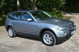 2008 BMW X3 2.0d SE 5dr Step Auto very low mileage