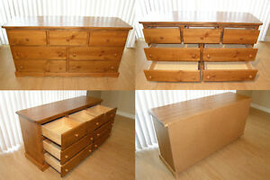 Pine Bedroom Furniture Set