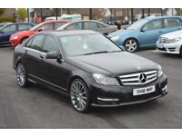 2012 12 MERCEDES-BENZ C CLASS 2.1 C220 CDI BLUEEFFICIENCY AMG OWN THIS FOR JUST £69 A WEEK ON PCP