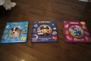 3 Puzzle Books / 15 Puzzles
