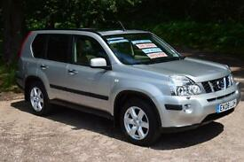 2008 NISSAN X-TRAIL TURBO DIESEL 4X4 ONE OWNER LOW MILEAGE AUTOMATIC