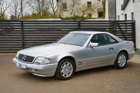 1998 Mercedes-Benz SL320 3.2 AUTO BRILLIANT SILVER AUTO FSH 2 KEYS LOW MILES 48K