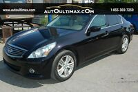 Infiniti G25 Sedan AWD-NAV-CAMERA DE RECULE 2011