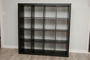 IKEA EXPEDIT 16 4x4 CUBE SHELVING UNIT