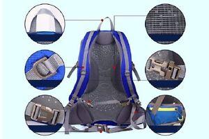 40L Hiking backpack Navy blue St. John's Newfoundland image 4