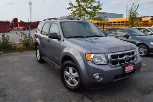 2008 Ford Escape XLT 4WD, 3Years Warranty, Sunroof, Leather