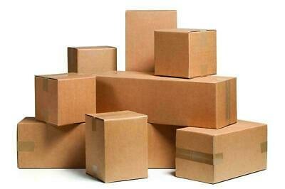 10 6x6x5 Corrugated Moving Box Packaging Boxes Cardboard Packing Shipping