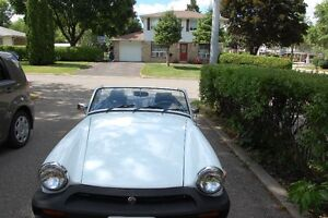 Classic MG Midget ready for fall touring