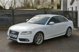 2010 AUDI A4 S LINE SPECIAL EDITION IBIS WHITE FASH 2 KEYS B&O SOUNDS