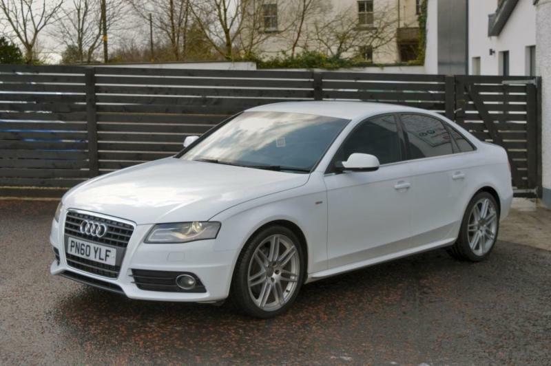 2010 audi a4 s line special edition ibis white fash 2 keys. Black Bedroom Furniture Sets. Home Design Ideas